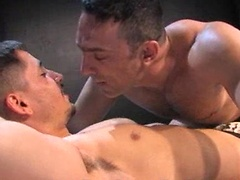 Vinnie D\\\'Angelo and Logan Mcree. Muscled ass fucked.