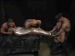 Bryce Pierce, Joe Stack, Michael Cory and Boyd Thomas. Master and Slave.