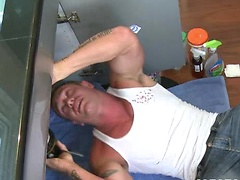 When you get one of the hottest gay musclemen eating out your ass and fucking your brains out you know you\\\'re in for a good time.  Trent Davis gets railed by Bryce Tucker with a hot facial as an added bonus.