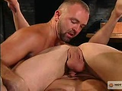 Reckless #02. Muscle threesome