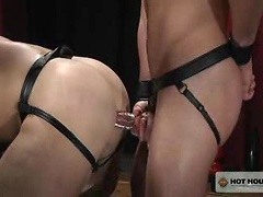 Sanctuary #01. Muscled ass fucked.
