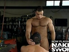 Twin Devils - Studio 2000, Muscled ass fucked