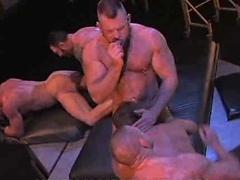 Charlie Fabravo, Nick Angelo, Nick Cezar, Peter Axel, Tober Brandt - muscle orgy