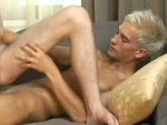 Blond got hos ass licked and fucked