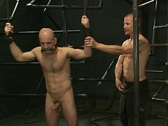 Gay men slaved, tied and fucked