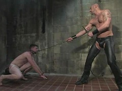 Our perv CJ Madison is back. This time he has skater boy Aaron Adams in his possession.
