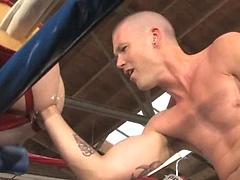 James Aaron and Ryan Patrick fisting