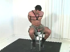 Andreas Cavalli tied and naked