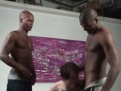 Alex drilled by 2 black cocks