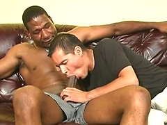Anthony in interracial threesome