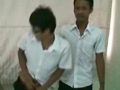 Thai Geek Caught in a Gay Menage a Trois