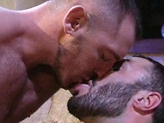 Cole Streets, Steve Cruz, Wilfred Knight group sex