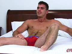 Straight boy Paddy O'Brian lets Dan Broughton be the first Man to Suck his cock
