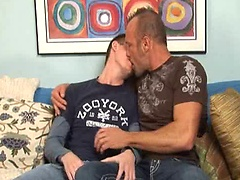 Hairy muscle man fucks younger boy. Starring Chad Brock and Tucker Forrest