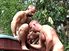 Horny bears Butch Grand and Rik Kappus fuck
