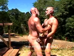 Hairy daddies Allen Silver and Tom Dixter