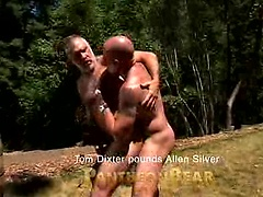 Daddies ass fucked. Starring Tom Dixter Pounds Allen Silver