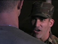 Brave soldier Luke Hass and Roman Ragazzi fucking
