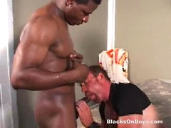 Mature guy Derek double-fucked