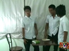 Thai Twinks Play 'Cum on Crackers'