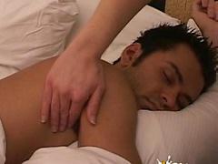 Hot latin boy gets massaged and jerked off.