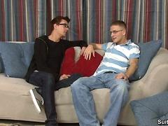 Seth Roberts and Tucker Bradley have sex