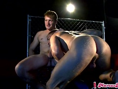On The Set - Marcus Mojo and Riley Price