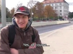 Czech boy love cock