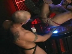 Shane Rollins put his fist and dick in Wilhelm Dragon\\\'s hole