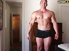 Big Bodybuilder Dorian James is a HOT Sexy Teddy Bear
