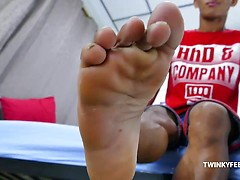 Rizal Solo Feet Wank