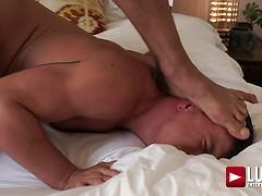 Jesse Santana Rides Boyfriend Tyler Roberts' Raw Cock
