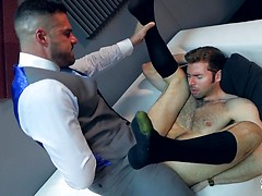 PRIVATE EYES. Starring DARIO BECK & GABRIEL LUNNA