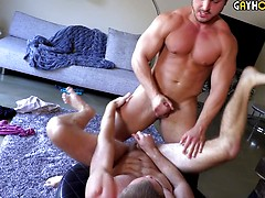 George Gomez Makes His Hardcore Gay Sex Debut With Logan Piper