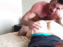 Billy Santoro tastes the popper boy