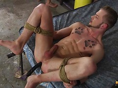 A Jock Boy Properly Used! - Koby Lewis & Mickey Taylor