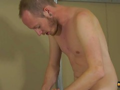 Foot Wanking With A Captive Twink - Maxxie Wilde & Sean Taylor