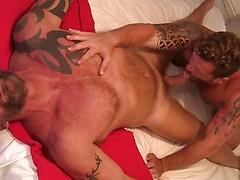 AJ Marshall and Riley Mitchell Flip Fuck