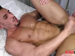 HORNY JOAO GETS THIAGO'S RAW COCK
