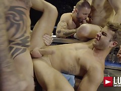 Allen King's 4-man Gang Bang