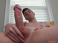 Lucas Ryder Jerks His Dick