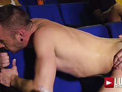 Max Arion And Drake Rogers' Movie Theatre Fuck
