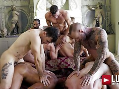 Belvedere Breeding Orgy (Part 01)