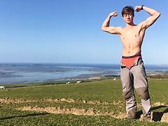 Muscular & Adventurous Climber