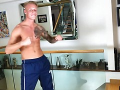 Straight & Ripped Muscular Boxer Jake Campbell