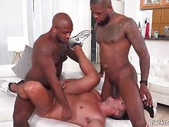 Adrian Suarez, Micah Martinez & Mr Cali fuck