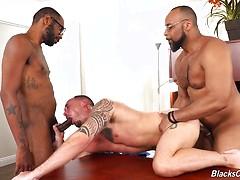 August Alexander, Kirk Cummings & Ray Diesel   anal fucking