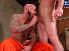 Drake Jaden and Hunter Marx in Jailbreak from TitanMen