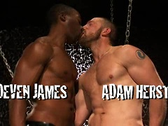 Deven James and Adam Herst Leather and Piss Scene 2
