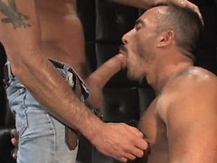 Tony Buff and Alessio Romero in \'Live Sex\'